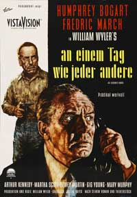 The Desperate Hours - 43 x 62 Movie Poster - German Style A