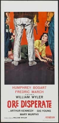 The Desperate Hours - 13 x 28 Movie Poster - Italian Style B