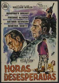 The Desperate Hours - 27 x 40 Movie Poster - Swedish Style C
