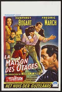 The Desperate Hours - 11 x 17 Movie Poster - German Style C