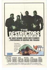 The Destructors - 11 x 17 Movie Poster - Style A