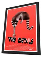 The Details - 11 x 17 Movie Poster - Style A - in Deluxe Wood Frame