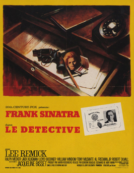 The Detective - 11 x 17 Movie Poster - French Style A