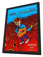 The Devil and Daniel Johnston - 11 x 17 Movie Poster - Style A - in Deluxe Wood Frame
