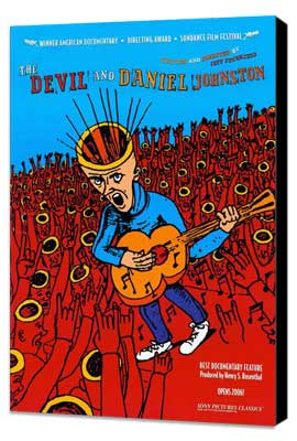 The Devil and Daniel Johnston - 11 x 17 Movie Poster - Style A - Museum Wrapped Canvas