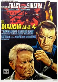The Devil at 4 O'Clock - 11 x 17 Movie Poster - Italian Style A