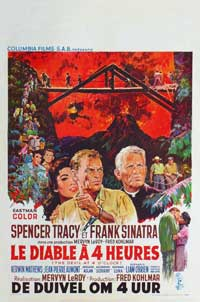 The Devil at 4 O'Clock - 27 x 40 Movie Poster - Belgian Style A