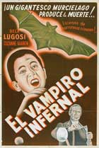 Devil Bat, The - 11 x 17 Movie Poster - Spanish Style A
