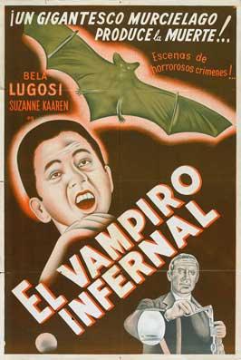Devil Bat, The - 27 x 40 Movie Poster - Spanish Style A