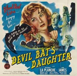 Devil Bat, The - 22 x 28 Movie Poster - Half Sheet Style A