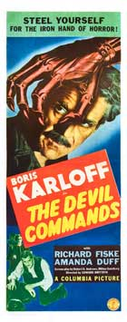 The Devil Commands - 14 x 36 Movie Poster - Insert Style A