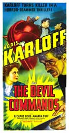 The Devil Commands - 20 x 40 Movie Poster - Style A