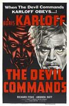 The Devil Commands - 27 x 40 Movie Poster - Style B