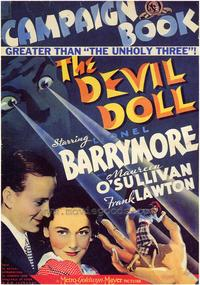 The Devil Doll - 43 x 62 Movie Poster - Bus Shelter Style A