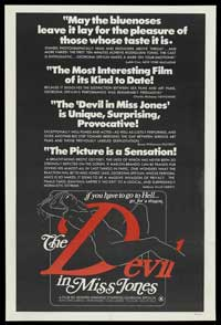 The Devil in Miss Jones - 43 x 62 Movie Poster - Bus Shelter Style D
