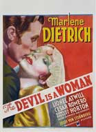 The Devil Is a Woman - 27 x 40 Movie Poster - Style B