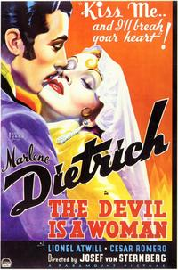 The Devil Is a Woman - 11 x 17 Movie Poster - Style B