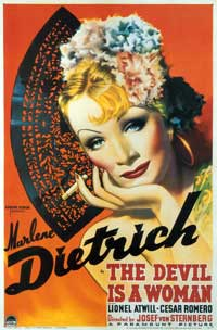 The Devil Is a Woman - 43 x 62 Movie Poster - Bus Shelter Style A