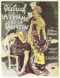 The Devil Is a Woman - 11 x 17 Movie Poster - Belgian Style A