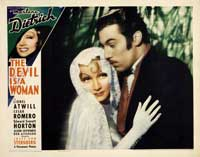 The Devil Is a Woman - 11 x 14 Movie Poster - Style E