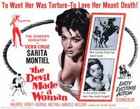 The Devil Made a Woman - 11 x 14 Movie Poster - Style A