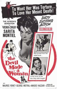 The Devil Made a Woman - 11 x 17 Movie Poster - Style A