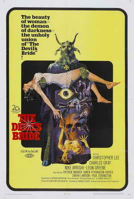 Devil Rides Out, The - 27 x 40 Movie Poster - Style B
