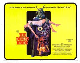 Devil Rides Out, The - 22 x 28 Movie Poster - Half Sheet Style A