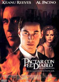 The Devil's Advocate - 11 x 17 Movie Poster - Spanish Style A