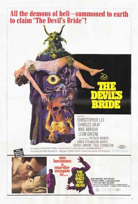 The Devil's Bride - 11 x 17 Movie Poster - Style A