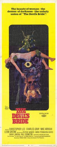 The Devil's Bride - 14 x 36 Movie Poster - Insert Style A