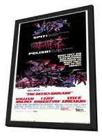 The Devil's Brigade - 14 x 36 Movie Poster - Insert Style A - in Deluxe Wood Frame