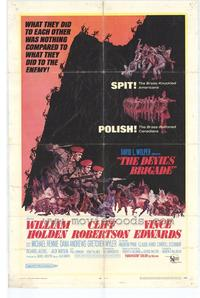 The Devil's Brigade - 27 x 40 Movie Poster - Style A