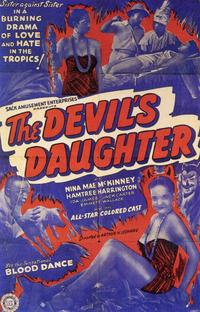 The Devil's Daughter - 11 x 17 Movie Poster - Style A