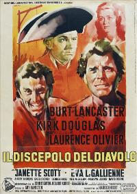 The Devil's Disciple - 27 x 40 Movie Poster - Italian Style A