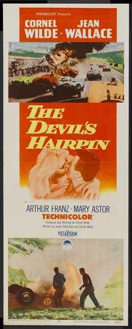 The Devil's Hairpin - 14 x 36 Movie Poster - Insert Style A