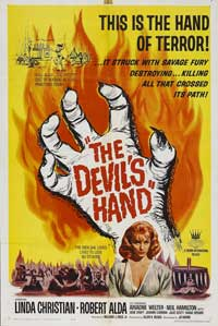 The Devil's Hand - 11 x 17 Movie Poster - Style A