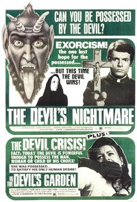 The Devil's Nightmare The Devil's Garden Combo - 43 x 62 Movie Poster - Bus Shelter Style A