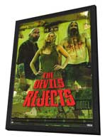 The Devils Rejects - 27 x 40 Movie Poster - Style C - in Deluxe Wood Frame