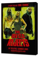 The Devils Rejects - 11 x 17 Movie Poster - Style F - Museum Wrapped Canvas