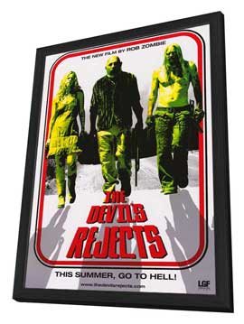 The Devils Rejects - 11 x 17 Movie Poster - Style B - in Deluxe Wood Frame