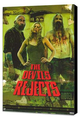 The Devils Rejects - 27 x 40 Movie Poster - Style C - Museum Wrapped Canvas