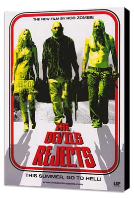 The Devils Rejects - 27 x 40 Movie Poster - Style E - Museum Wrapped Canvas