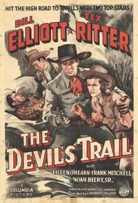 The Devil's Trail - 11 x 17 Movie Poster - Style A