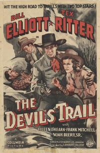 The Devil's Trail - 27 x 40 Movie Poster - Style A