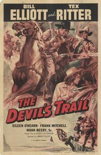 The Devil's Trail - 27 x 40 Movie Poster - Style B