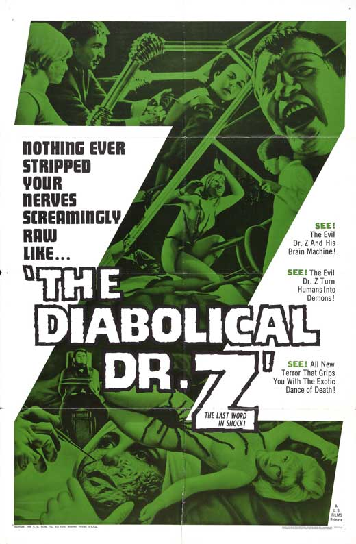 The Diabolical Dr. Z movie