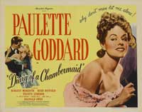 The Diary of a Chambermaid - 22 x 28 Movie Poster - Half Sheet Style A