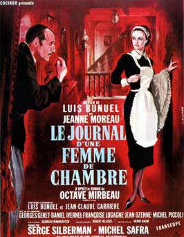 The Diary of a Chambermaid - 11 x 17 Movie Poster - French Style A