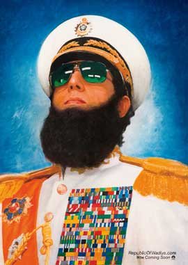 The Dictator - 11 x 17 Movie Poster - Style A